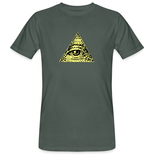 Illuminati - Ekologisk T-shirt herr