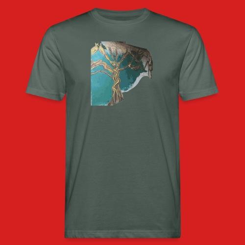 Figurenbaum - Männer Bio-T-Shirt