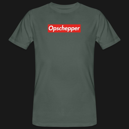 Opschepper Classic Rood - Mannen Bio-T-shirt