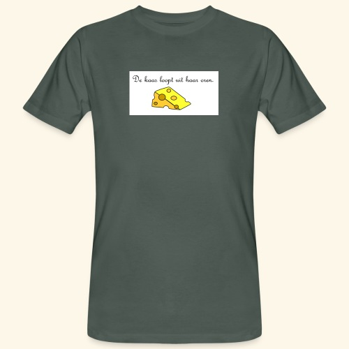 Kaas loopt uit haar oren - Temptation - Mannen Bio-T-shirt