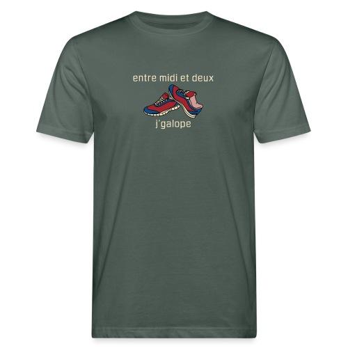 Galope almond XL - AW20/21 - T-shirt bio Homme