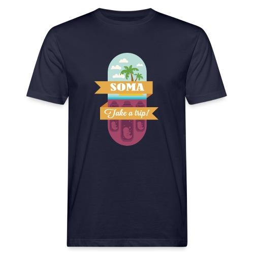 Soma - Il mondo nuovo - Aldous Huxley - T-shirt ecologica da uomo