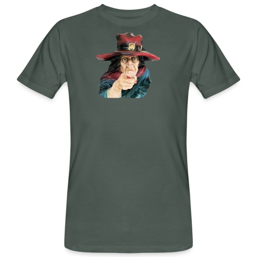 The Witch / Die Hexe - Männer Bio-T-Shirt