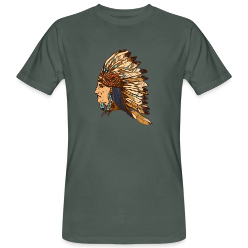 Koszulka Indianin 4 - Ekologiczna koszulka męska