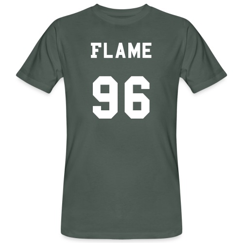 maglietta_flame_96 - T-shirt ecologica da uomo