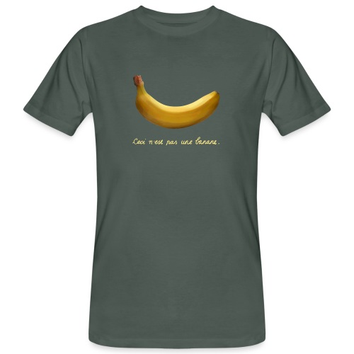 BANAAN 09 - Mannen Bio-T-shirt