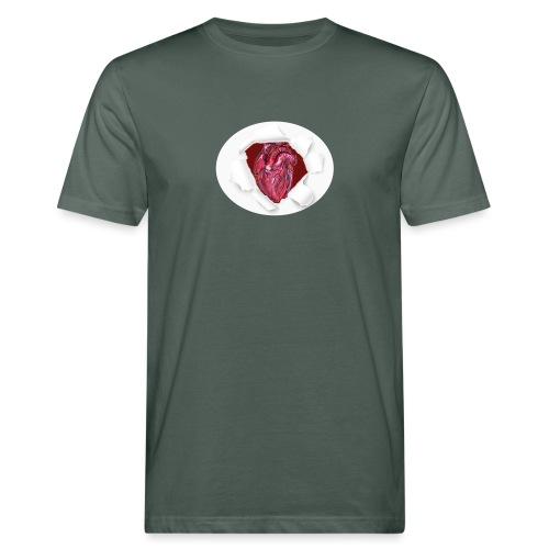 CUORE BATTICUORE - T-shirt ecologica da uomo