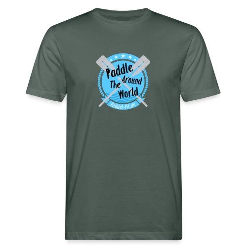 Paddle Around The World - Männer Bio-T-Shirt