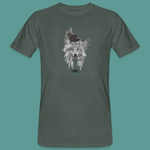 Mutagene Tattoo Pow Wow - T-shirt bio Homme