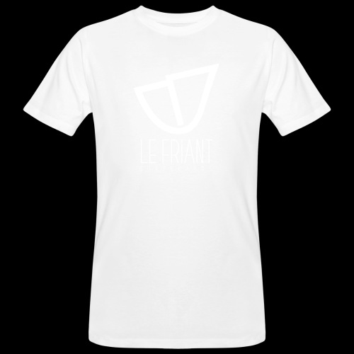 Logo Blanc Le Friant Surfboards - T-shirt bio Homme
