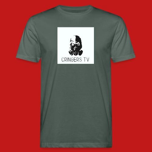 Original Cringers Tv Logga - Ekologisk T-shirt herr