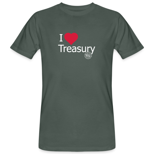 I LOVE TREASURY - Men's Organic T-Shirt