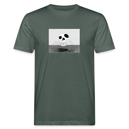 skull spider - Ekologisk T-shirt herr