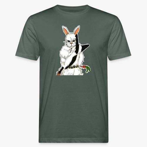 The white Rabbit - Økologisk T-skjorte for menn