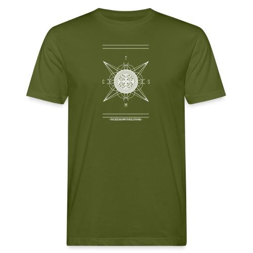 DE PIONEER [WIT] - Mannen Bio-T-shirt