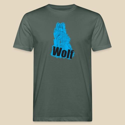 Blue Wolf - T-shirt bio Homme