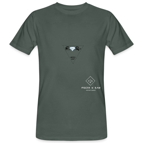 wit met doorzichtig achtergron png - Men's Organic T-Shirt