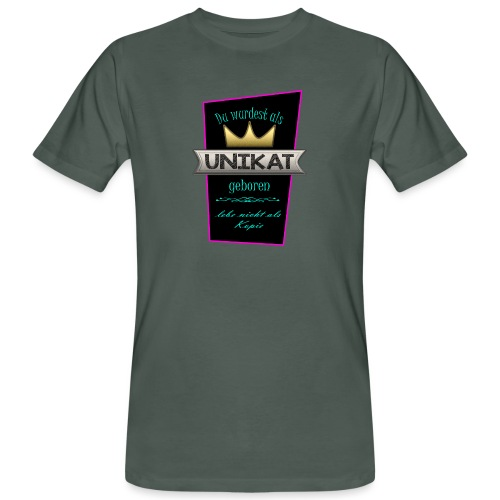 Unikat - Männer Bio-T-Shirt