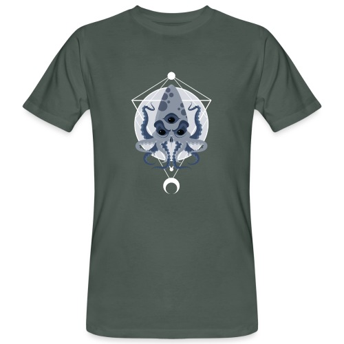 Cthulhu third eye - T-shirt ecologica da uomo