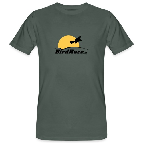 BirdRace at color - Männer Bio-T-Shirt
