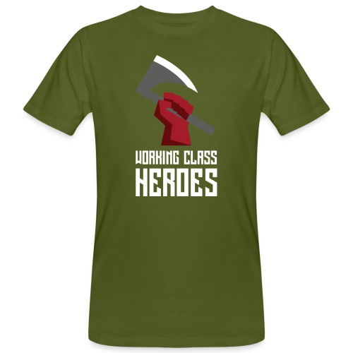 WORKING CLASS HEROES - Men's Organic T-Shirt