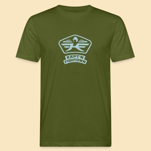Käpt'n Fishtown - Männer Bio-T-Shirt