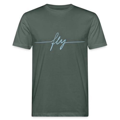 fly - Männer Bio-T-Shirt