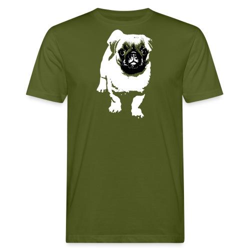 Mops Hund Hunde Möpse Geschenk - Männer Bio-T-Shirt