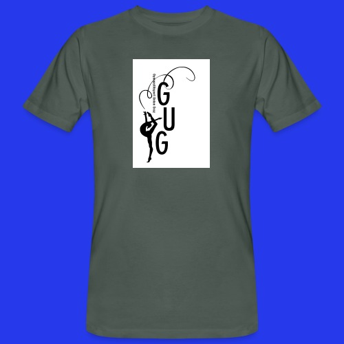 GUG logo - Männer Bio-T-Shirt