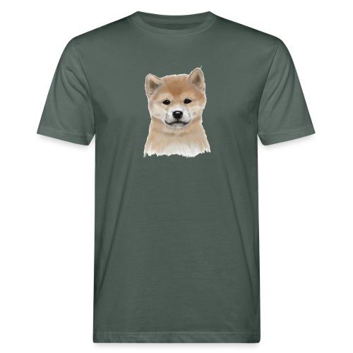 Akita Inu - Ekologiczna koszulka męska