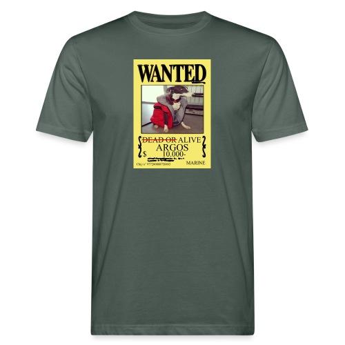 #dóndeestáargos ARGOS ver.wanted - Camiseta ecológica hombre