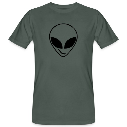 Alien simple Mask - Men's Organic T-Shirt