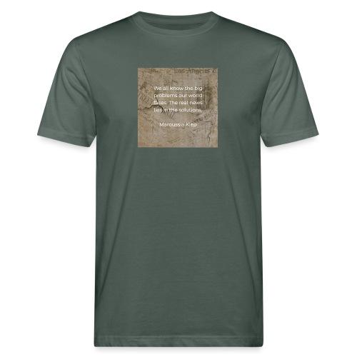 The real news - Männer Bio-T-Shirt