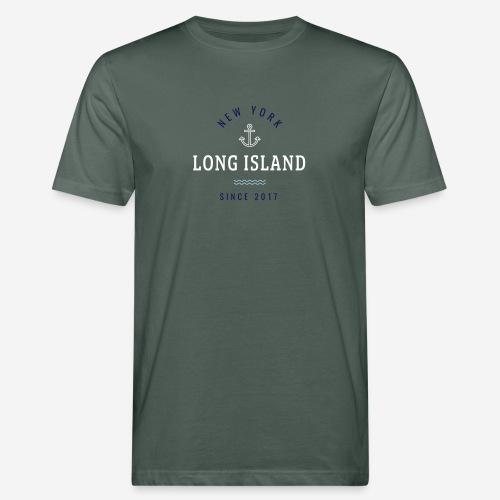 NEW YORK - LONG ISLAND - T-shirt ecologica da uomo
