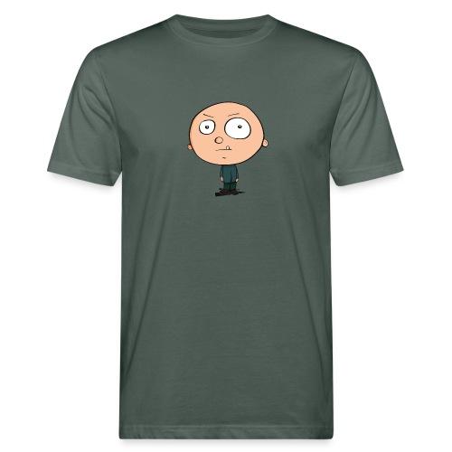 Grimmiger Junge - Männer Bio-T-Shirt