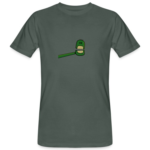 Roboter Kopf - Männer Bio-T-Shirt
