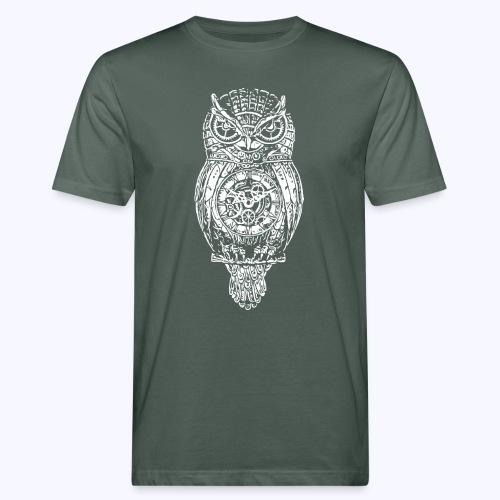 Eule - Männer Bio-T-Shirt