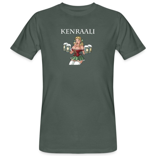 kenraali - Miesten luonnonmukainen t-paita