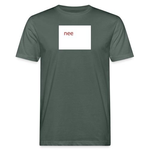 nee t-shirts - Mannen Bio-T-shirt