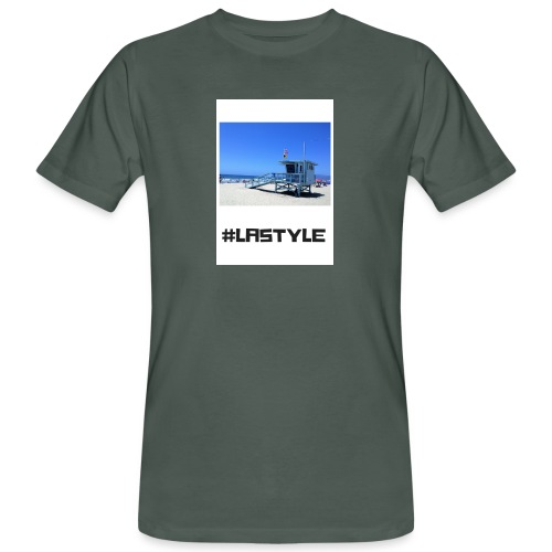LA STYLE 2 - Men's Organic T-Shirt