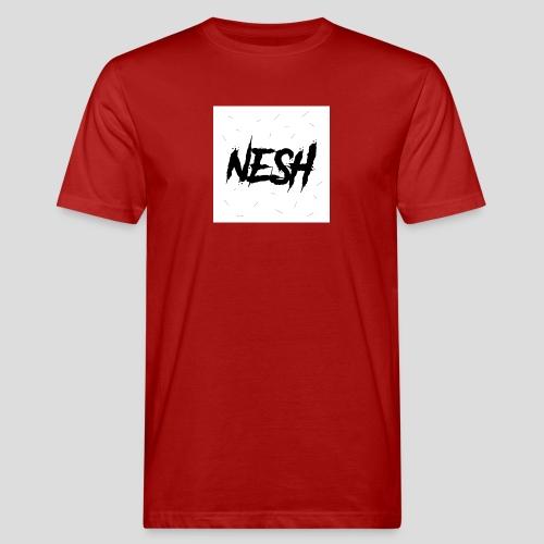 Nesh Logo - Männer Bio-T-Shirt