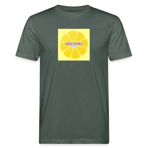 zitronetextur - Männer Bio-T-Shirt