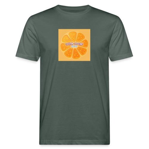 orangetextur - Männer Bio-T-Shirt