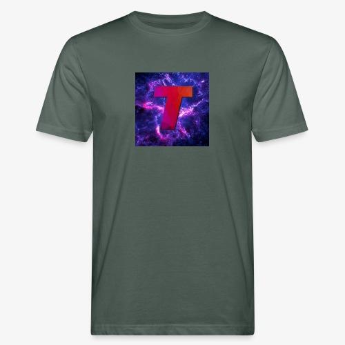 Tsunami Logo - Økologisk T-skjorte for menn