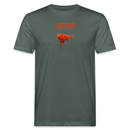 ostrov red - Ekologiczna koszulka męska