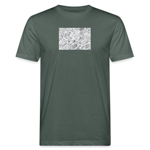 Doodle - Ekologiczna koszulka męska
