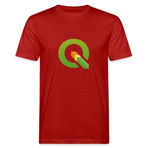 QGIS Q logo - Men's Organic T-Shirt