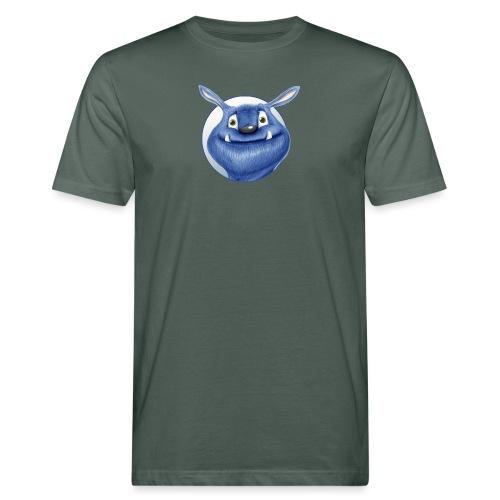 blaues Monster - Männer Bio-T-Shirt