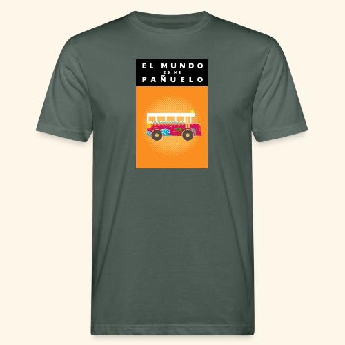 Die Welt ist ein Dorf - Männer Bio-T-Shirt