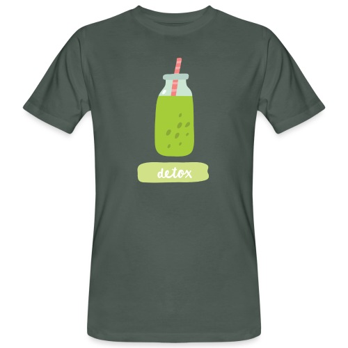 Detox with style - T-shirt ecologica da uomo